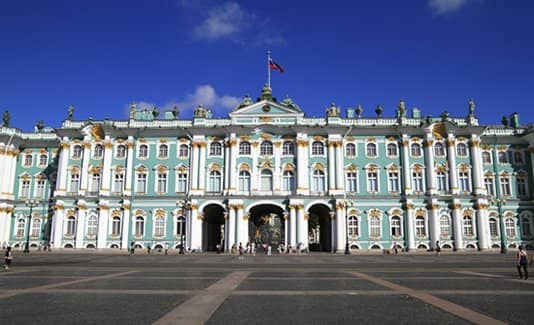 Санкт-Петербург, Россия рококо