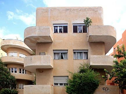 Тель-Авив, Израиль баухаус
