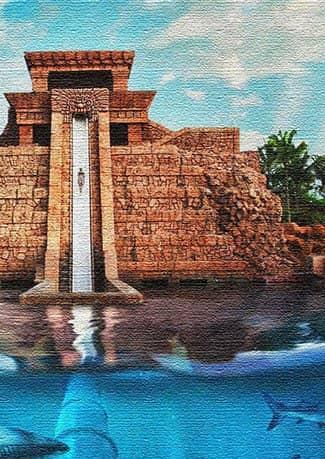 Аквапарк Aquaventure, Багамы (фото)