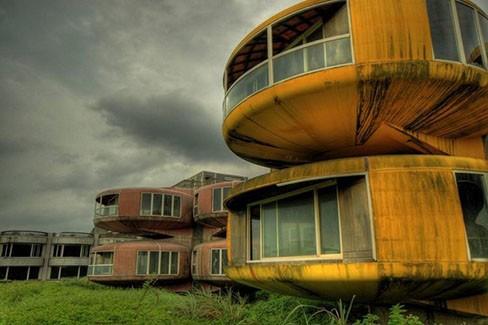 Дома UFO, Тайвань (фото)