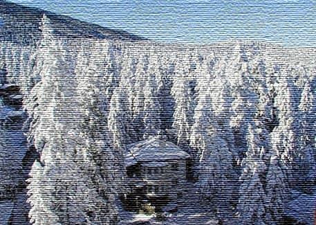 Горные хребты и горнолыжные курорты (фото)
