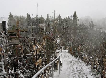 Холм крестов, Литва (фото)