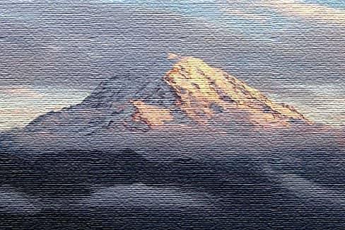 Кратер горы Рейнир, США (фото)