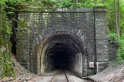 Кричащий туннель, Канада (фото)