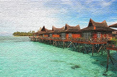 Морские курорты Сингапура (фото)