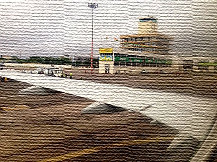 Национальный аэропорт в Бенине (фото)