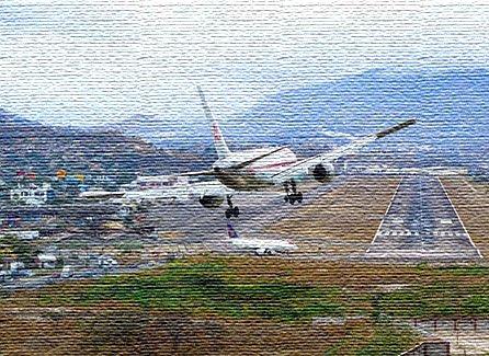 Национальный аэропорт в Гондурасе (фото)