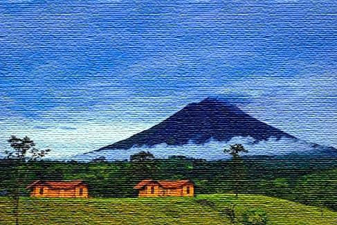 Национальный парк вулканов Аренал, Коста-Рика (фото)