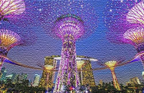 Общее представление о Сингапуре (фото)