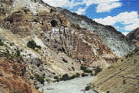 Одинокий монастырь Птукат, Зансакар