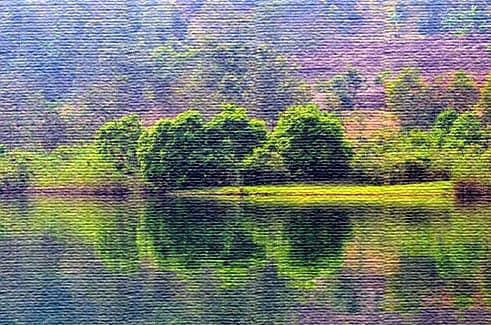 Озеро Киву, Конго и Руанда (фото)