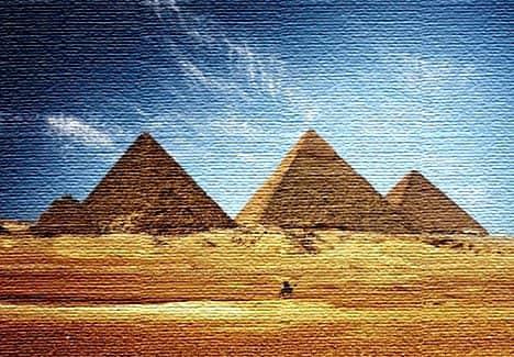 Пирамиды в Гизе, Египет (фото)