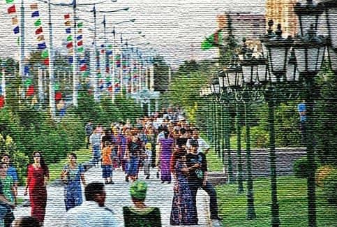 Развлечения в Туркмении (фото)