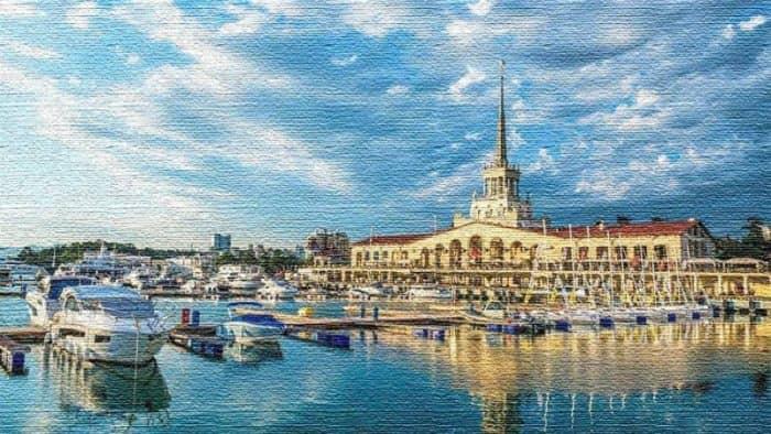Сочи - курортный и культурный центр Краснодарского края (фото)