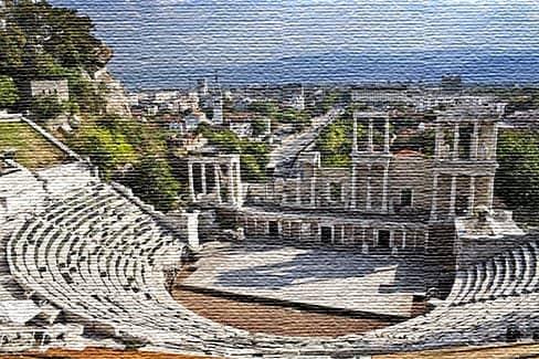 Старейший город Европы Пловдив (фото)