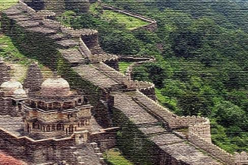 Великая стена Индии, форт Кумбхалгарх