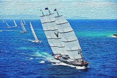 Яхтинг как спорт - командная работа и попутный ветер (фото)