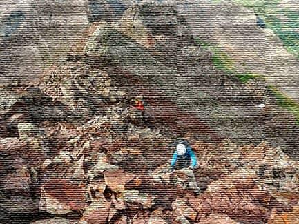 Южный хребет Марун-Беллс, Колорадо (фото)