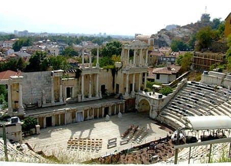Римский Амфитеатр в Пловдиве (фото)
