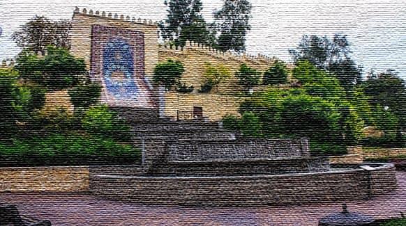 Восьмое чудо света - восточный ковер Шейх Сафи (фото)