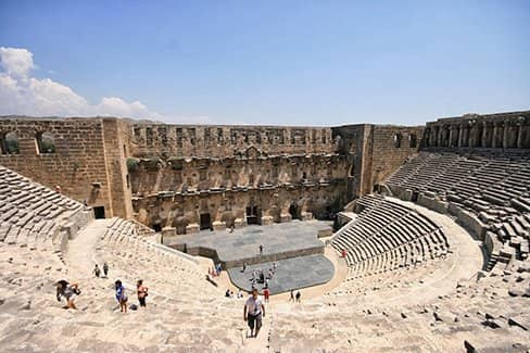 Амфитеатр Аспендос (фото)