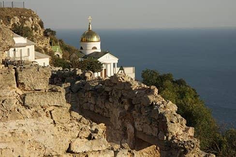 Балаклавский Георгиевский монастырь в Севастополе (фото)