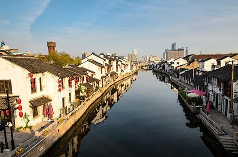 Древние водные города - Цзянсу и Чжэцзян (фото)