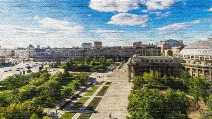 Курортный город Новосибирск - столица сибирского региона (фото)