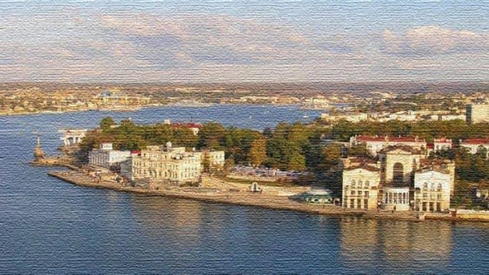 Курортный город Севастополь - морская столица Крымского полуострова (фото)