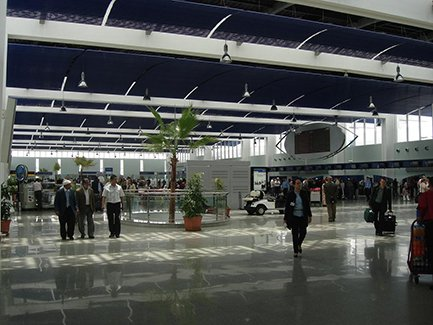 Марокко, Касабланка, Международный аэропорт Мухаммеда V (фото)
