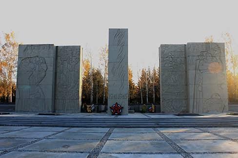 Монумент славы (Новосибирск) (фото)