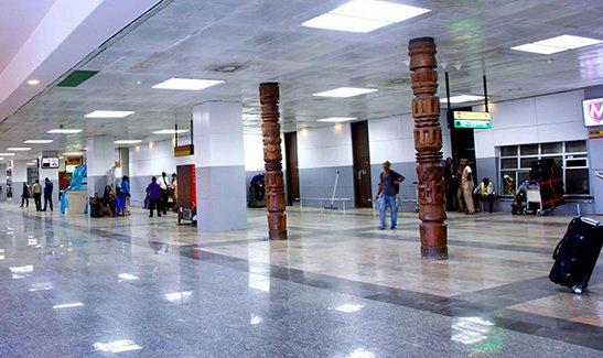 Нигерия, Лагос, Международный аэропорт Муртала Мухаммеда (фото)