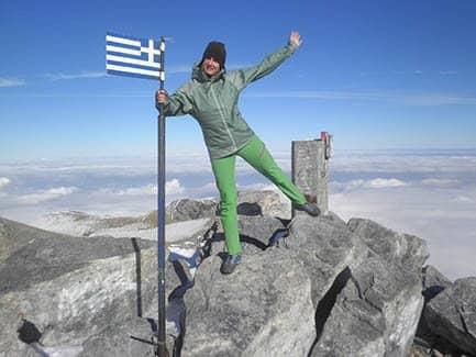 Преодолевая вершины - восход на Олимп (фото)