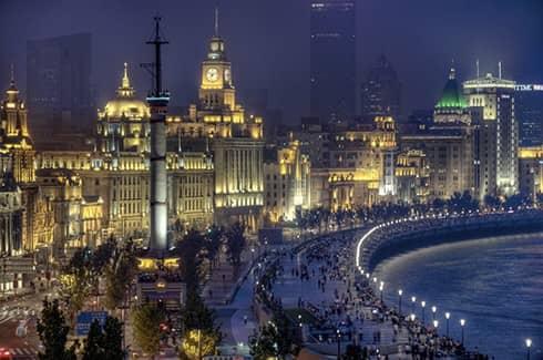 Променад Шанхая - Бунд (фото)