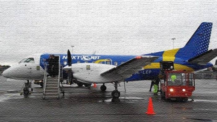 Шведская авиакомпания Nextjet отозвала всей рейсы из-за банкротства (фото)