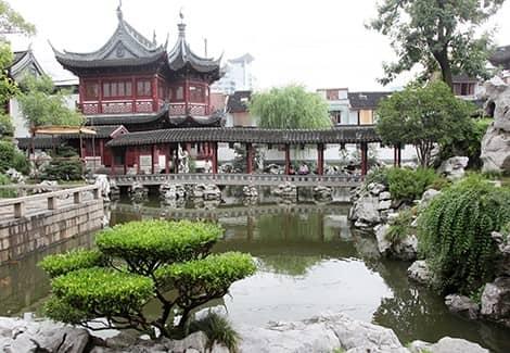 Сад Юй - сады счастья императора (фото)