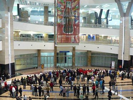 ЮАР, Йоханнесбург, Международный аэропорт Оливера Тамбо (фото)