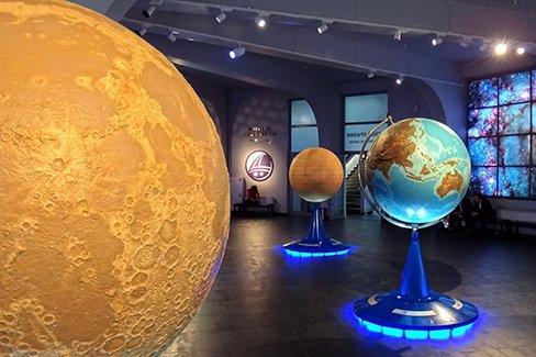 Экспозиция - какие залы присутствуют в планетарии Москвы (фото)