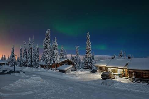 Финляндия - зимняя сказка в северной Европе (фото)