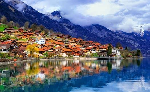 Швейцария - нейтралитет альпийские горы