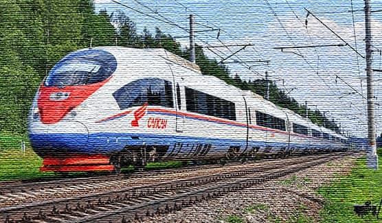 Ночные поезда из Москвы в Санкт-Петербург (фото)