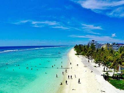 Пляж Хулхумале (фото)
