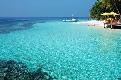 Пляжи острова Ваббинфару (фото)