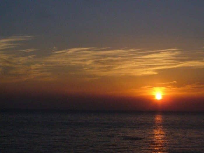 Закат в Вардане
