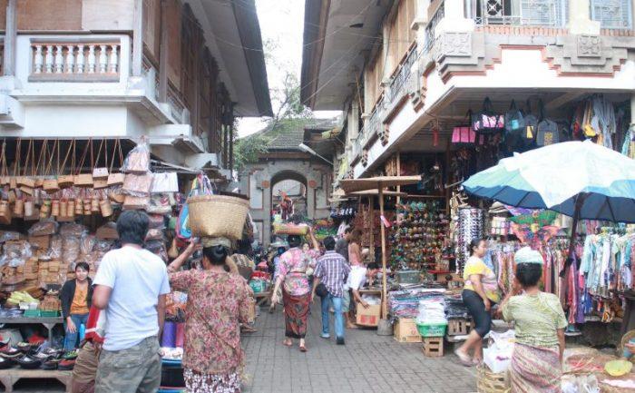 Арт-рынок в Убуде