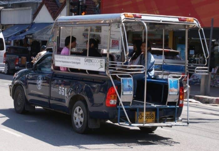 Автобус Паттайя