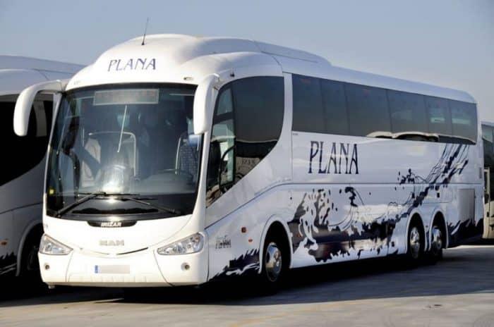 Автобус в Салоу