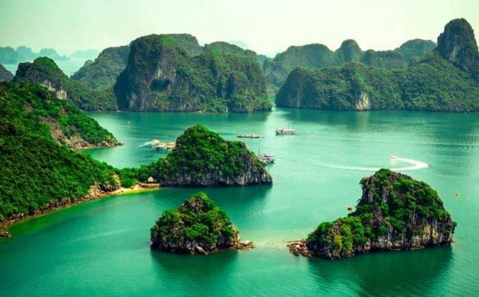 Вьетнам острова