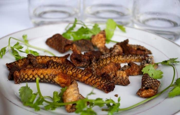 Блюда из змей