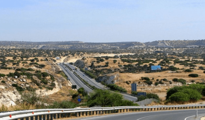 Дорога Кипра